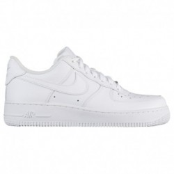 Nike Air Force 1 Low Leather Trainers In White Nike Air Force 1 07 Le Low - Women's White/White | Leather / Essentials
