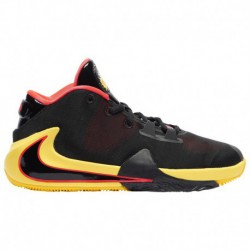 Nike Zoom Freak 1 Boys Nike Zoom Freak 1 - Boys' Grade School Antetokounmpo, Giannis | Black/Red Orbit/Opti Yellow