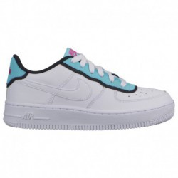 nike air force white aqua clay nike air force 1 low grade nike air force 1 low boys grade school white aqua fuschia