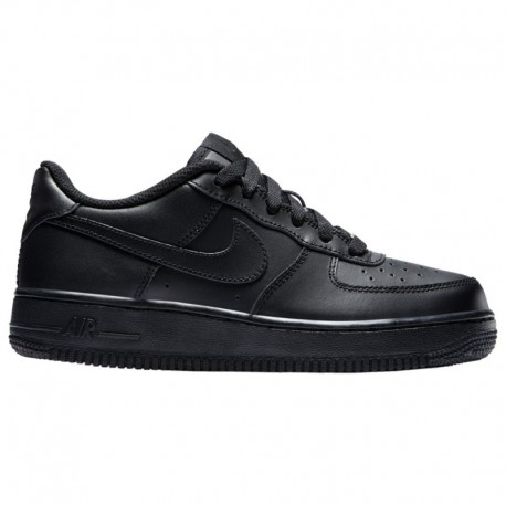 Nike Air Force One Grade School Nike Air Force 1 Low - Boys' Grade School Black/Black