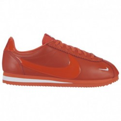 Nike Classic Cortez Team Orange Nike Classic Cortez Premium - Women's Team Orange/Team Orange/White