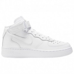 nike air force 1 mid white grade school kids shoes nike air force 1 mid girls grade school nike air force 1 mid boys grade scho
