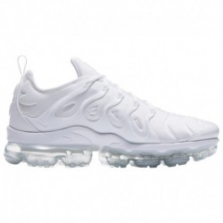 Nike Air Vapormax Plus White Platinum & Grey Nike Air Vapormax Plus - Men's White/White/Pure Platinum