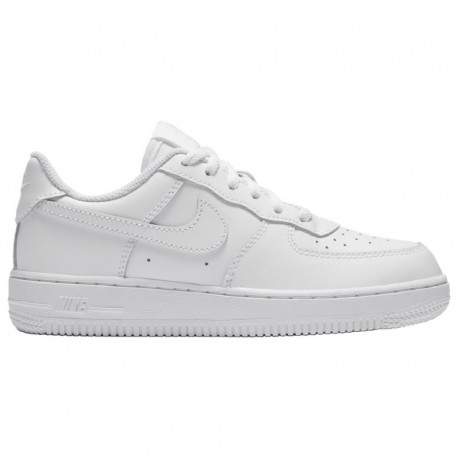 Nike Air Force 1 White Boys Nike Air Force 1 Low - Boys' Preschool White/White