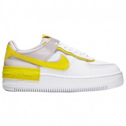 Nike Af1 Shadow Women's Nike Af1 Shadow - Women's White/Yellow/Purple