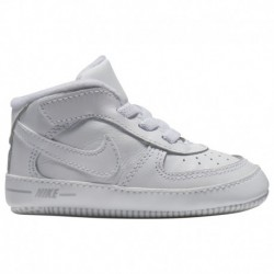 nike air force 1 infant white nike air force one white on white nike air force one crib boys infant white white white