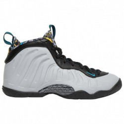 Nike Little Athletics Shoes Nike Nike Little Posite One - Boys' Grade School Wolf Grey/Gold/Black