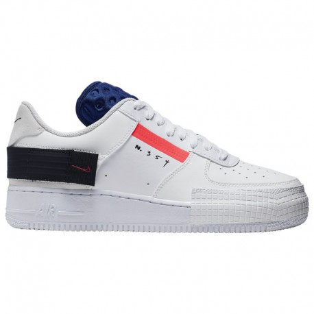 Nike Air Force 1 Low Type White Nike Air Force 1 Low Type - Men's White/Red/Black