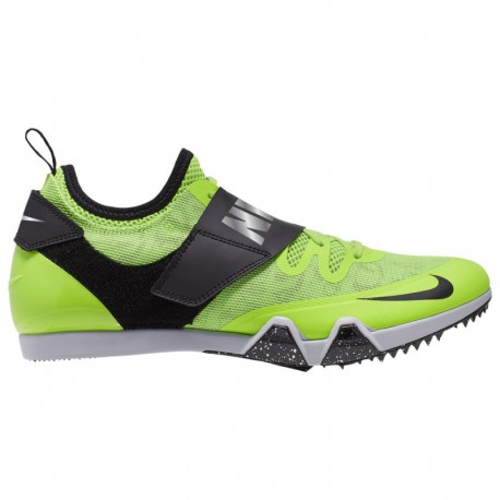 Nike Pole Vault Elite Spikes Nike Pole Vault Elite - Men's Electric Green/Black/Metallic Pewter