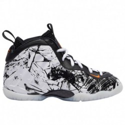 Nike Little Athletics Shoes Adidas Nike Little Posite One - Boys' Preschool Black/Total Orange/White