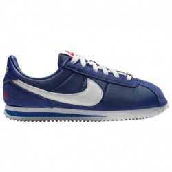 Nike Cortez Deep Royal Blue Nike Cortez - Boys' Grade School Deep Royal Blue/White/Met Silver/univ Red | LA