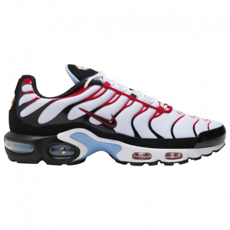 Nike Air Max 97 University Red White Nike Air Max Plus - Men's White/Black/University Red/Psychic Blue