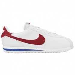 Nike Cortez Basic Leather OG White Varsity Red Nike Cortez - Men's White/Varsity Red/Varsity Royal | Leather