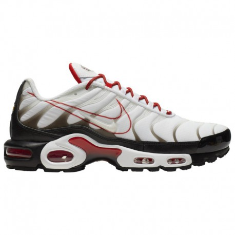 Nike Air Max Zero White Pure Platinum Nike Air Max Plus - Men's White/Black/Pure Platinum/Red