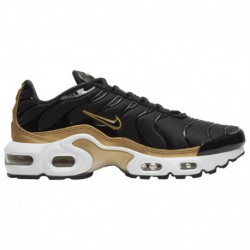 black gold nike air max plus nike air max plus metallic gold womens nike air max plus boys grade school black black metallic go