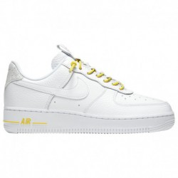Nike Af1 Yellow And White Nike Af1 Lux - Women's White/Yellow