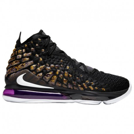 Nike Lebron James XIV Nike LeBron 17 - Men's James, Lebron | Black/White/Eggplant/Amarillo