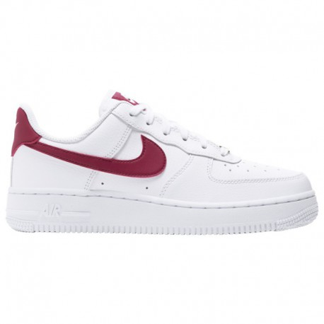 Nike Air Force One Low White Red Nike Air Force 1 07 Le Low - Women's White/Noble Red/White