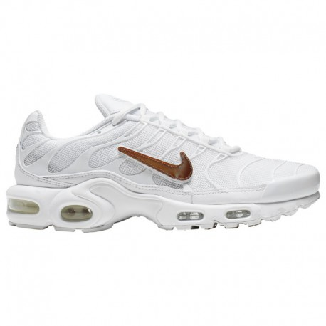 Nike Air Max 95 White Metallic Silver Photo Blue Nike Air Max Plus V - Men's White/Photo Blue/Total Orange/Metallic Silver