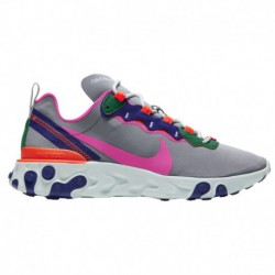 nike react element 55 wolf grey laser fuchsia nike react element 55 laser fuchsia nike react element 55 women s wolf grey laser