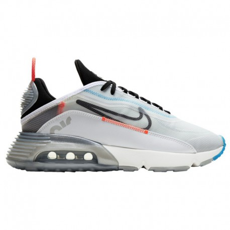 Pure Platinum Nike Air Max Nike Air Max 2090 - Men's White/Black/Pure Platinum/Bright Crimson