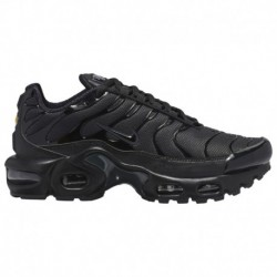 womens black nike air max plus black nike air max 97 plus nike air max plus boys grade school black black black